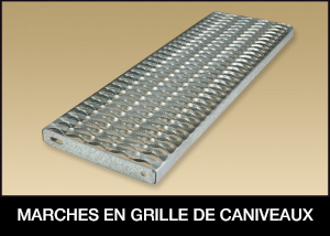 Channel Grating Treads